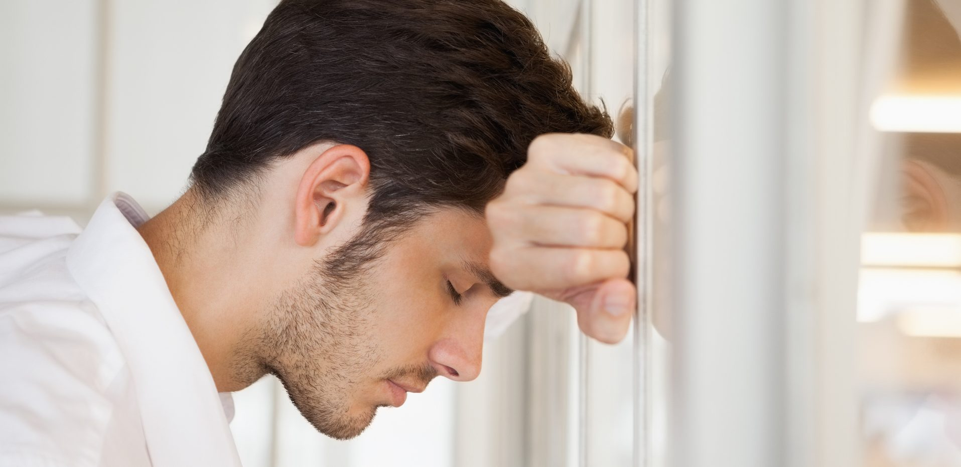 Depresja dotyka też mężczyzn. Faceci tak samo podlegają tej chorobie.